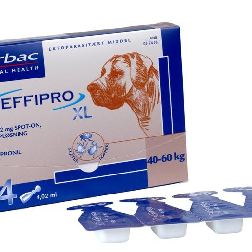 Virbac-EFFIPRO-x-large-hund-4-pipetter