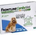 Frontline Combo 3x1,34ml til hund 10-20 kg