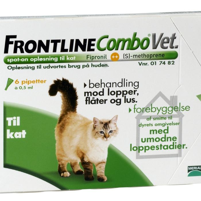 Frontline Combo 6x0,5ml til kat