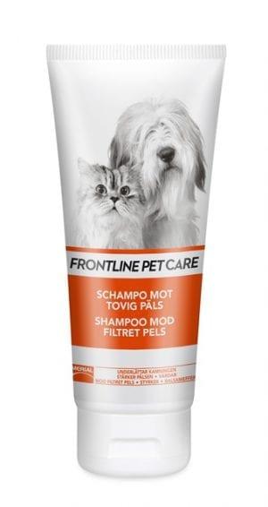 Frontline Shampoo mod filtret pels