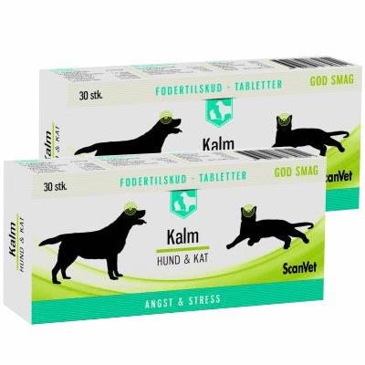 Kalm tabletter til hund og kat