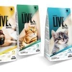Live kattefoder
