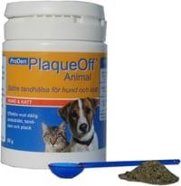 Det aktive stof i plaqueoff animal er et naturligt vækststof fra